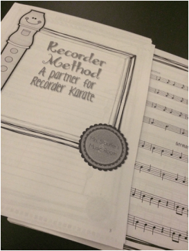 Recorder Method Book from MrsStouffersMusicRoom