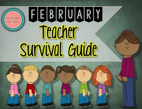 Mrs Stouffer's Music Room February Survival Guide