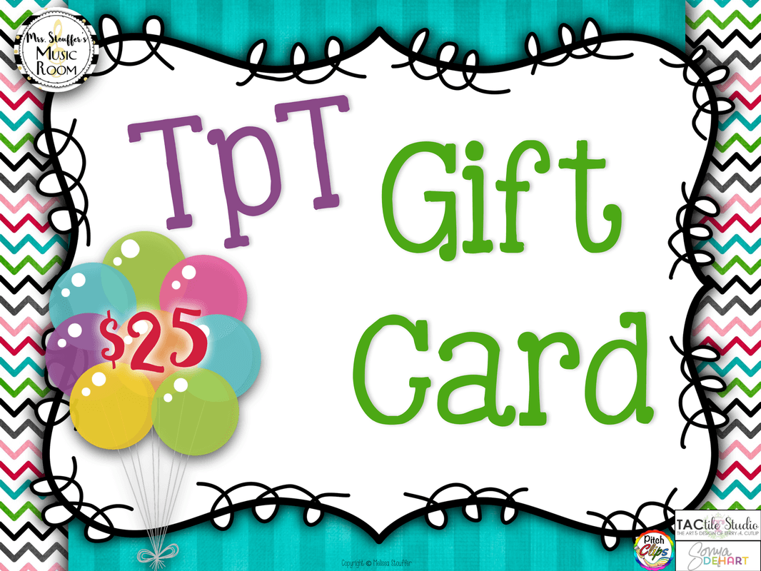 MrsSMusicRoom Gift Card Giveaway