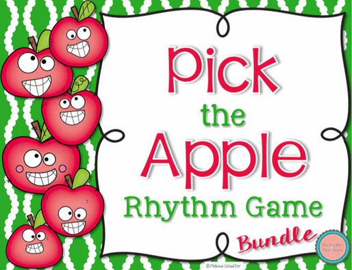 Pick the Apple Bundled Set for practicing rhythm