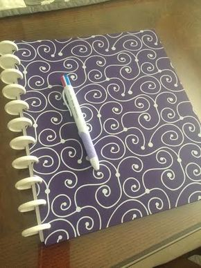 My not yet filled planner