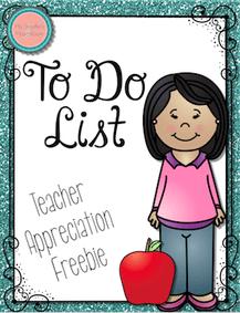 To Do List Freebie!