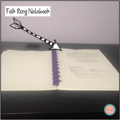 Folk Song Notebook