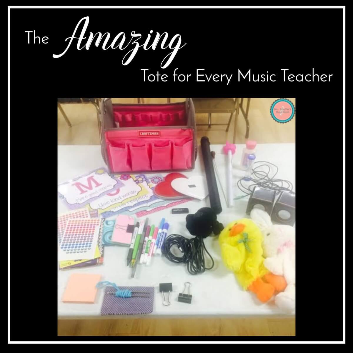 This Amazing Tote for Every Music Teacher!