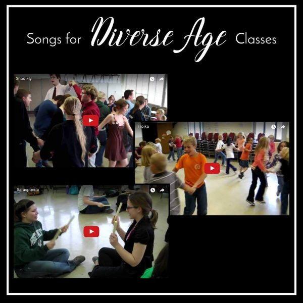 Songs for a diverse age classes from the joys of YouTube!
