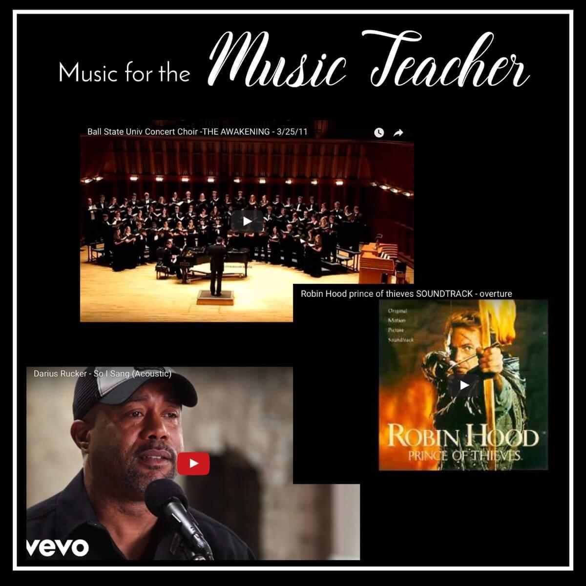 Music for the Music Teacher