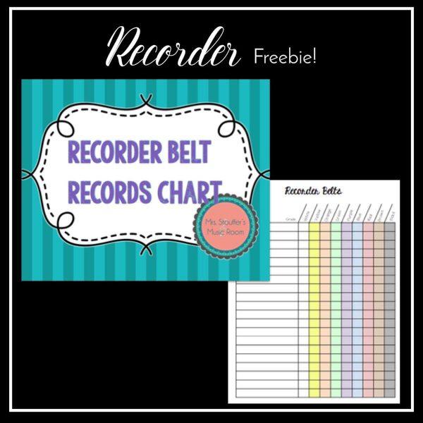 Recorder Freebie