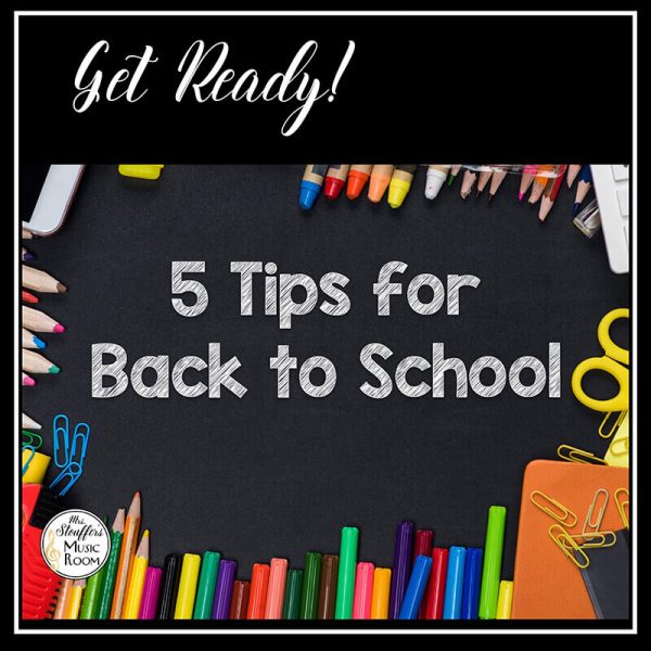 5 Tips for Back to School