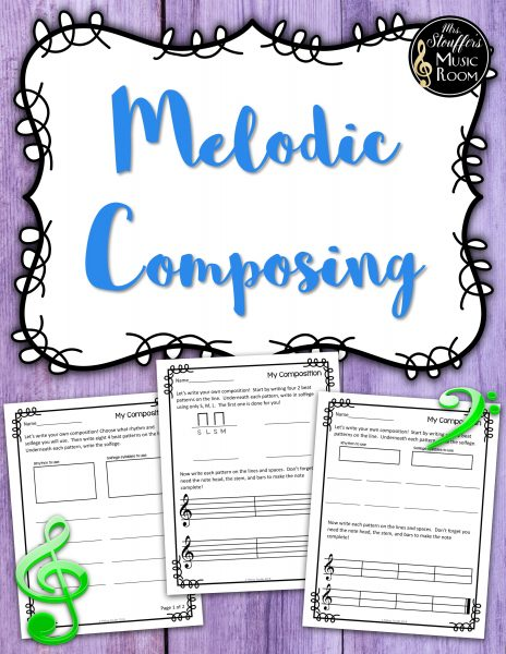 Melodic composing