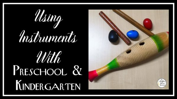 image using instruments with preschool and kingergarten