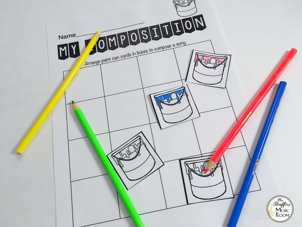 image color composing for younger students