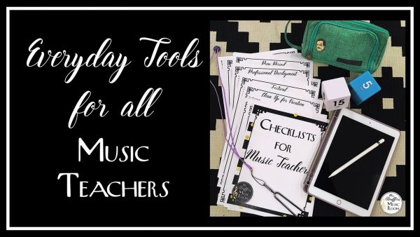 image Everyday tools for ALL music teachers