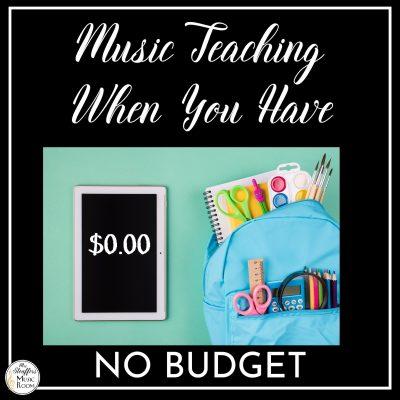 No Budget Music Class