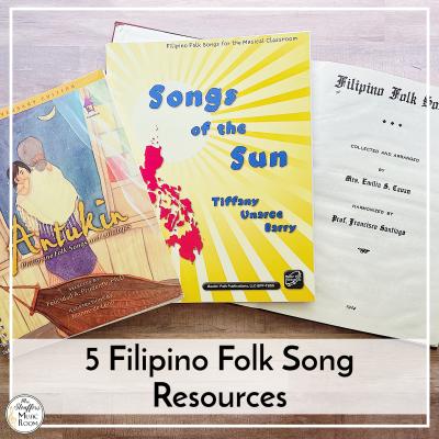 Filipino Folk Song Resources