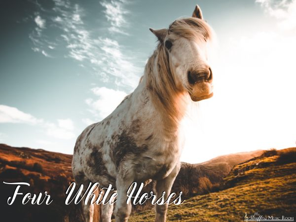 IMAGE four white horses song