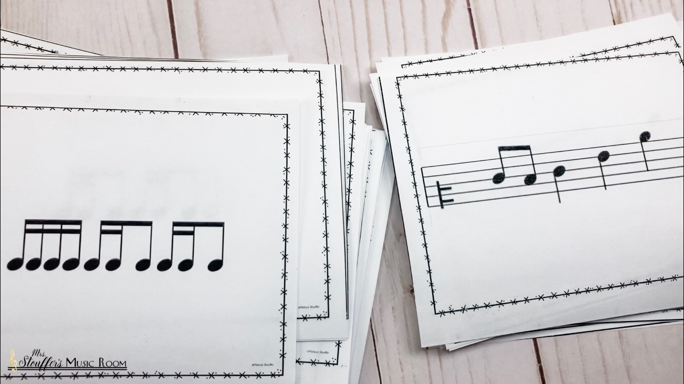 Rhythm and Melody cards