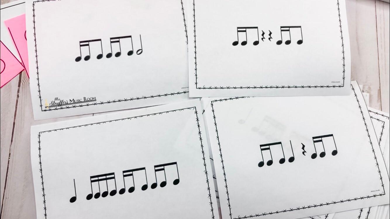 Rhythm cards