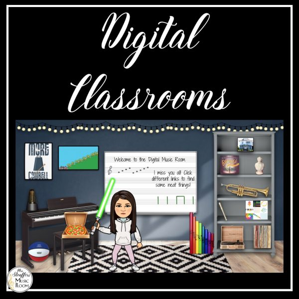 Digital Rooms for Distance Learning