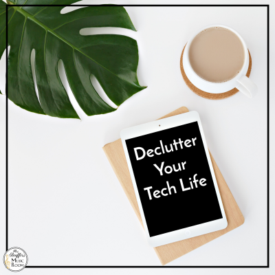 Decluttering Your Tech Life