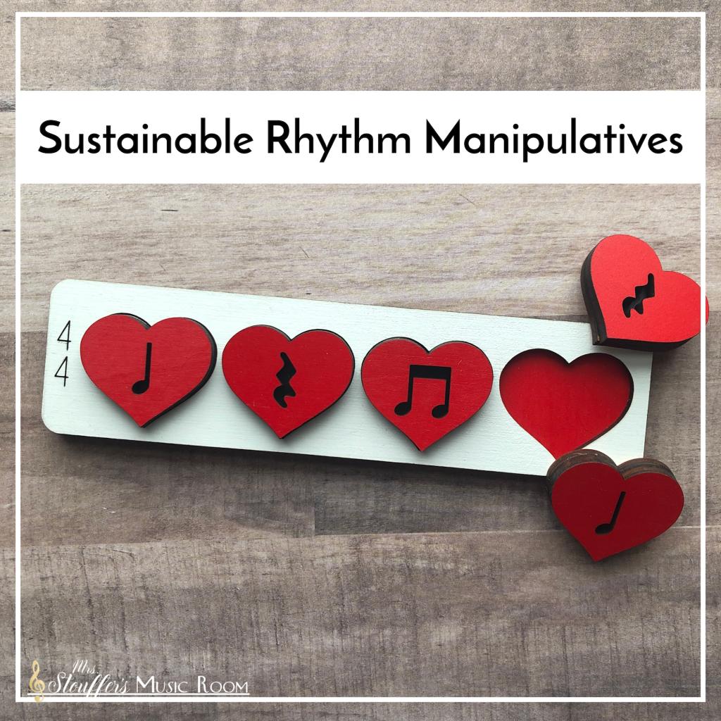 Sustainable Rhythm Manipulatives