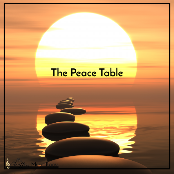 The Peace Table – A place for disagreement
