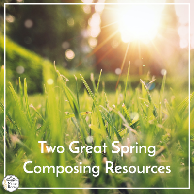Two Great Spring Composing Resources