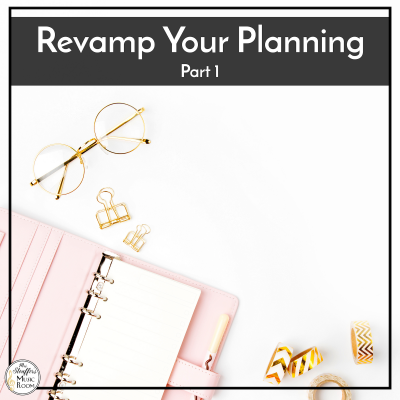 Revamp Your Planning Part 1