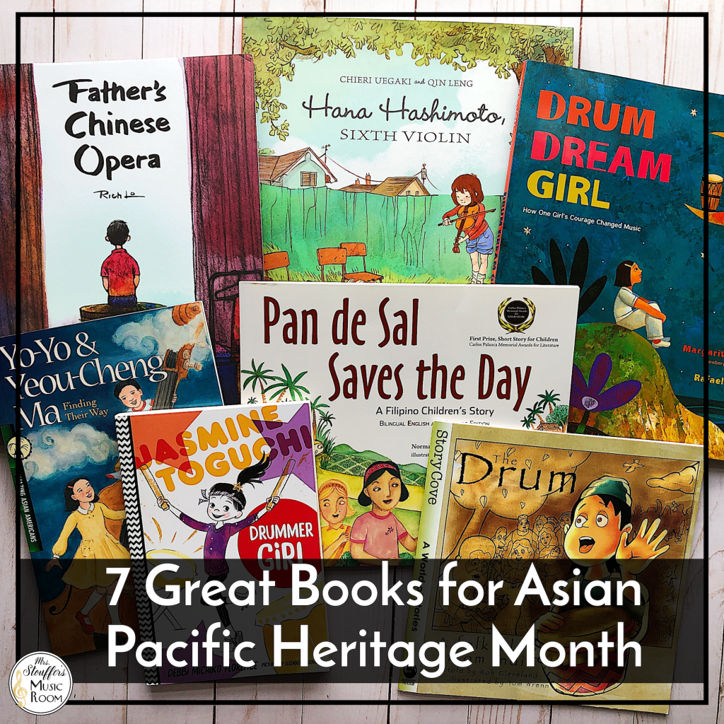 7 great books for Asian American Pacific Islander Heritage Month for kids
