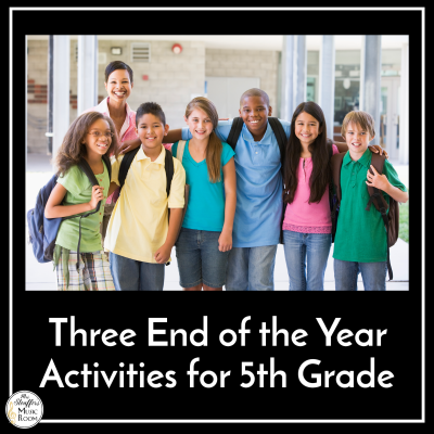 Three End of the Year Activities for Fifth Grade