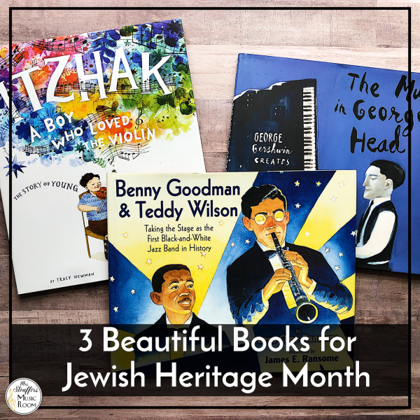 3 Beautiful Books for Jewish American Heritage Month
