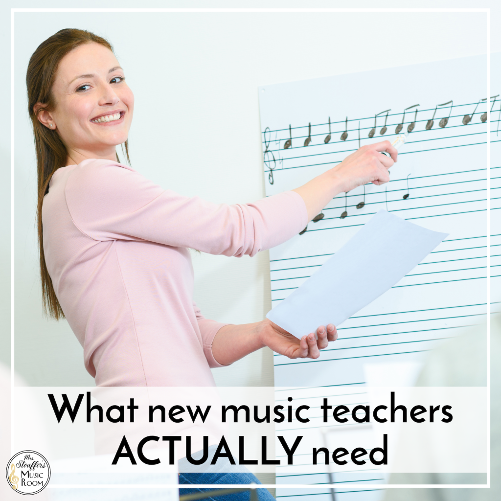 What new music teachers ACTUALLY need