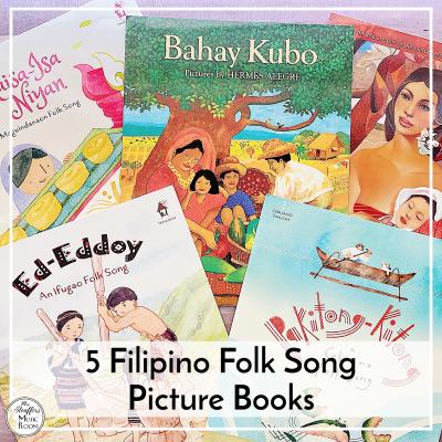 5 Filipino Folk Song Picture Books